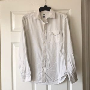 Soft White Button-Down